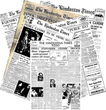 Times of India in British Newspaper Archive