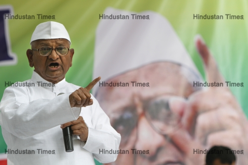 Anna Hazare Launches 2-Day Dharna In Delhi Against Land Ordinance