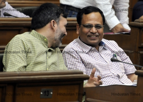 First Day Of Delhi Assembly Budget Session 2015