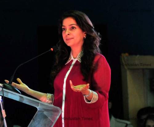 Bollywood Actor Juhi Chawla In Bhopal