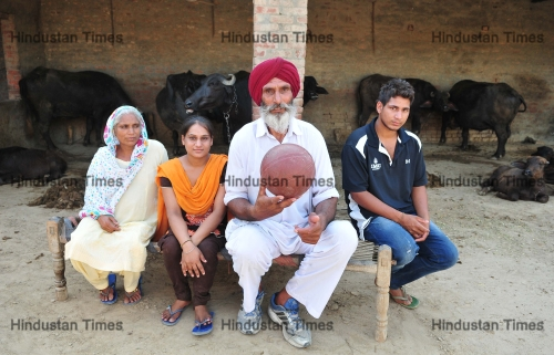 Family Members Of Satnam Singh Bhamara: First NBA Player From India