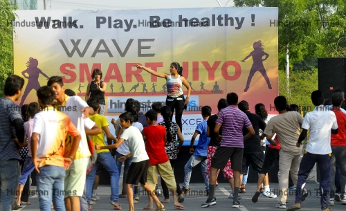 Wave Smart Jiyo Organized By Wave Group & Hindustan Times In Noida