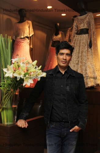 Profile Shoot Of Fashion Designer Manish Malhotra