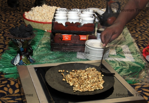 Traditional Coffee Ceremony Of Ethopia To Promote Ethopian Tourism In Mumbai