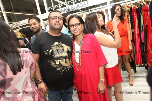 Launch Party Of Artist Ambika Pillais Boutique Style Loft