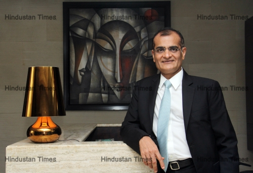 Profile Shoot Of Edelweiss Chairman And CEO Rashesh Shah