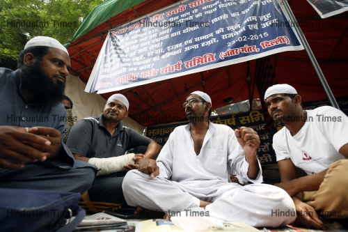 Bhagana Dalit Victims Protest At Jantar Mantar