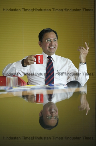 Profile Shoot Of Nestle Managing Director Suresh Narayanan