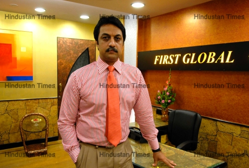 Profile Shoot Of First Global Brokerage Vice Chairman And Joint Managing Director Shankar Sharma