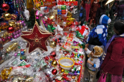 Christmas Festival In India.Preparations Of Christmas Festival In India Htsi14509080245515