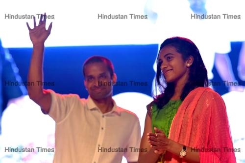 Olympic Medallist PV Sindhu Attends Silver Jubilee Celebration Of ITM Group Institutions