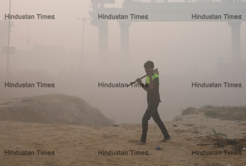 Heavy Pollution In Delhi/NCR After Diwali
