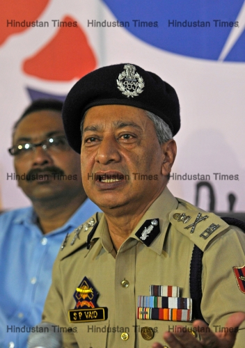 Press Conference Of J & K Police DGP SP Vaid
