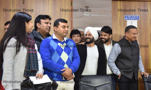 Press Conference Of Aam Aadmi Party Leaders Over The MLAs Disqualification