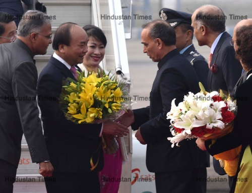 Prime Minister Of Vietnam, Nguyen Xuan Phuc Arrives In New Delhi For ASEAN-India Summit