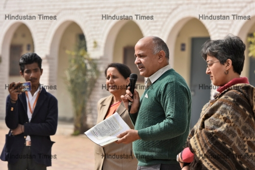 Delhi Deputy Chief Minister Manish Sisodia Address Republic Day Celebrations