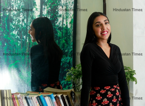 Profile Shoot Of Canadian Poet Rupi Kaur