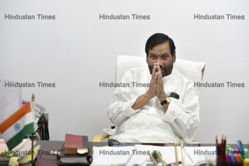 Press Conference Of Minister of Consumer Affairs, Food and Public Distribution Ram Vilas Paswan