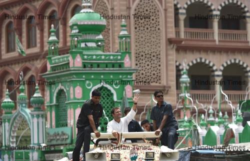 Karnataka Assembly Elections: Congress President Rahul Gandhi Road Show In  Shivajinagar
