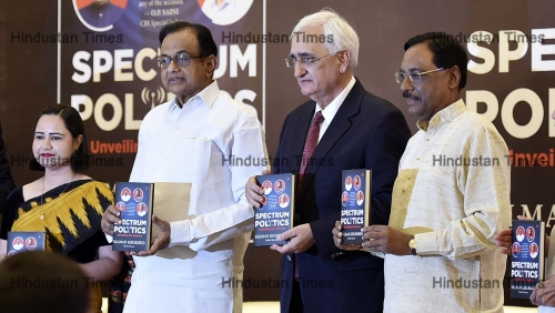 Congress Leader Salman Khurshid Releases His Book 'Spectrum Politics'