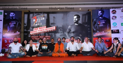 Yoga Guru Baba Ramdev Launches Patanjali's 120-Days Fitness Festival 'Mission Fit India'