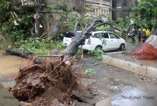 Heavy Rains Lash Mumbai; Lead To Water Logging, Traffic Disruptions