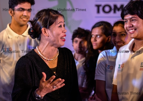 Indian Boxer Mary Kom Launches 'Stars of Tomorrow'- A Programme To Nurture Budding Athletes