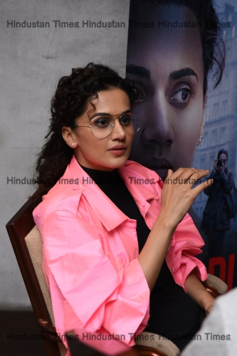 HT Exclusive: Bollywood Actress Taapsee Pannu During An Interview