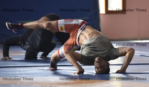 Shoot Of Indian Wrestlers