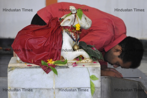 Hindu Devotees Offer Prayers On The First Day Of The Sawan Month