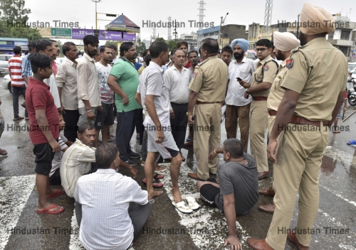 Normal Life Affected In Parts Of Punjab In Shutdown Over Ravidas Temple Demolition