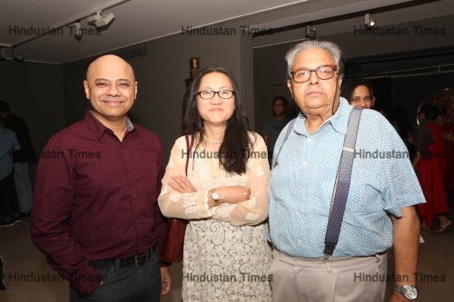 Exhibition Titled Burnish/Tarnish Organised At Palette Art Gallery