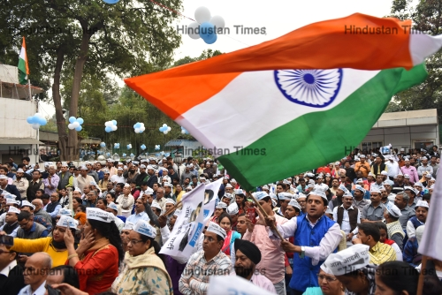 Aam Aadmi Party Celebrates Party's 7th Foundation Day