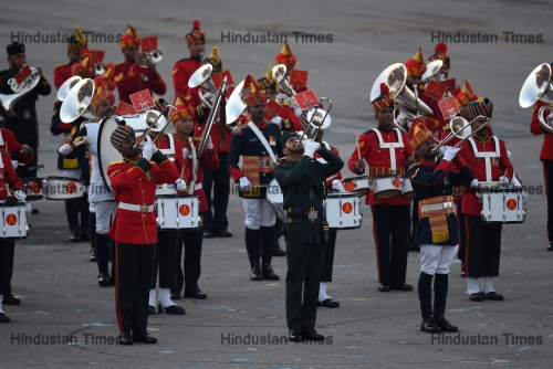 Beating Retreat Ceremony at Vijay Chowk