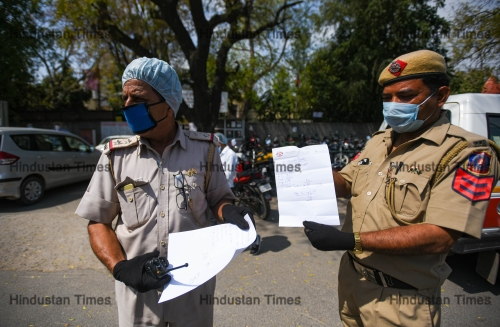 Delhi Forensic Science Laboratory And Delhi Police Crime Branch Teams Investigate The Tablighi Jamaat incident
