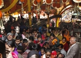Devotees Pay Obeisance At Sai Baba Temple