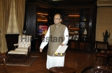 Australian Foreign Minister Julie Isabel Meets With Indian Finance Minister Arun Jaitley
