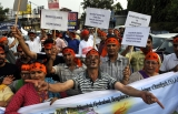 Kashmiri Migrants Protest Rally On World Refugee Day