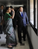 Foreign Affairs Minister Of Myanmar Wunna Maung Lwin Visits Indian Foreign Service Institute