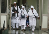 Kashmiri Muslim Pilgrims Leave For Haj In Srinagar