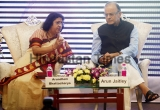 Union Finance minister Arun Jaitley Launches SBI Mobile Wallet App 'Buddy'