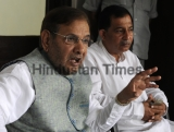 JDU Chief Sharad Yadav Address Press Conference Over Bihar Elections