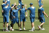 Indian And South African Cricket Teams Practice At Dharamshala