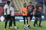 Indian Super League 2015: Delhi Dynamos FC Team Practice Session