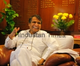 HT Exclusive: Profile Shoot Of Union Railways Minister Suresh Prabhakar Prabhu