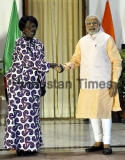 Prime Minister Narendra Modi Meets African Leaders