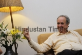 HT Exclusive: Profile Shoot Of Jouranlist And Author Sir William Mark Tully