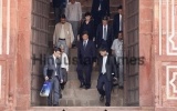 Chinese Vice President Li Yuanchao Visits The Humayun Tomb