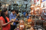 People Shopping On The Occasion On Dhanteras Festival