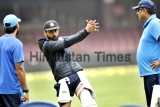 Indian And South African Cricket Teams Practice In Bengaluru